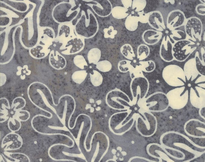 Moda Collections Sunshine Grey Cream Hawaiian Vintage Floral Howard Marcus Fabric BTY 46244-14
