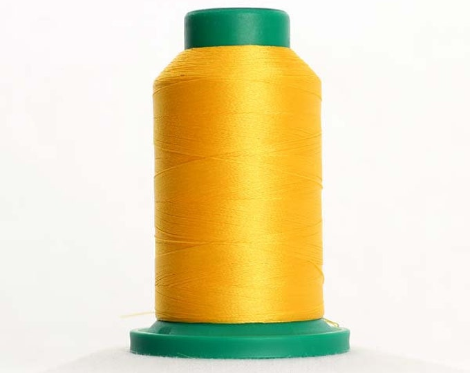 ISACORD Polyester Embroidery Thread Color 0311 Canary 1000m