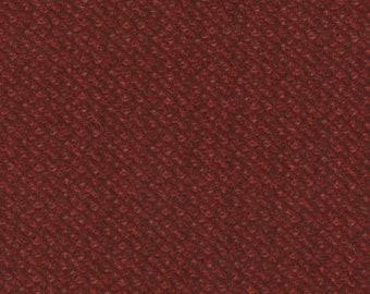Maywood Woolies Red Burgundy Poodle Bulce Tweed FLANNEL Fabric 18505-R BTY