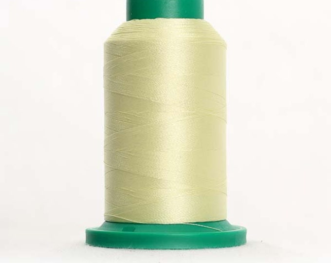 ISACORD Polyester Embroidery Thread Color 6151 Lemongrass 1000m