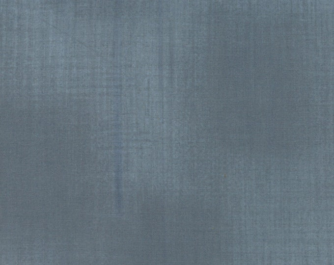 Moda Weather Permitting Janet Clare Tonal Grey Blue Blender Woven Texture Fabric 1357-43 BTY