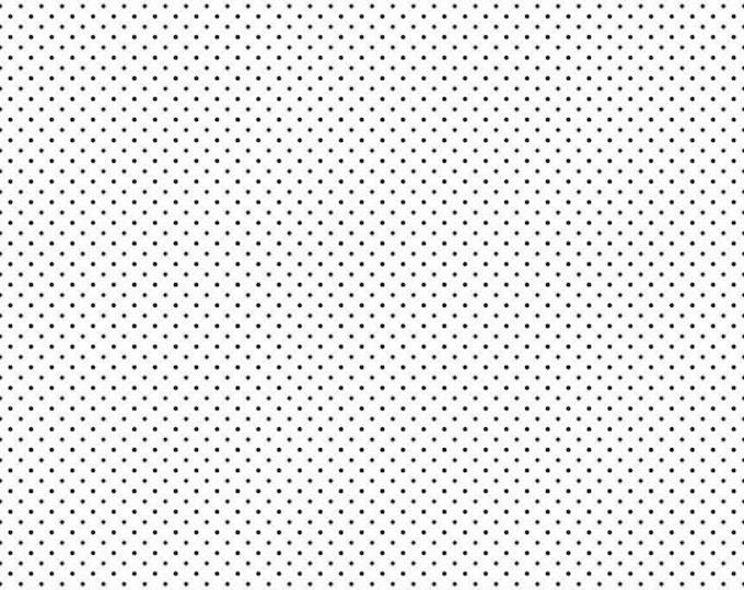 Riley Blake Designs Small Dots BLACK C660-110 Cotton Fabric BTY