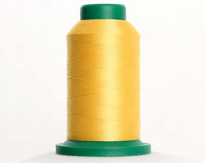 ISACORD Polyester Embroidery Thread Color 0630 Buttercup 1000m