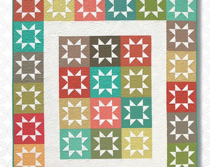 Atkinson Design Stash Stars Fat Quarter Friendly Quilt Pattern