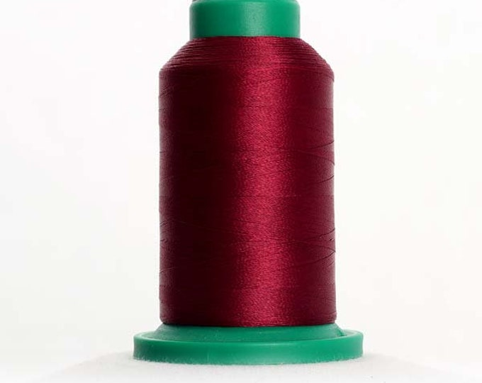ISACORD Polyester Embroidery Thread Color 2333 Wine 1000m