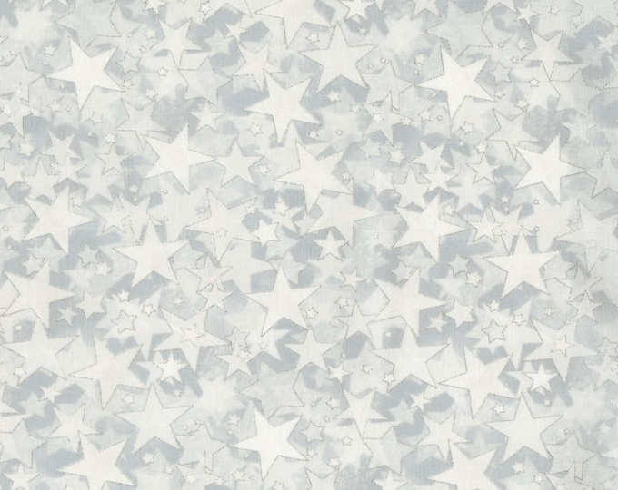 SALE RJR Holiday Accents Cream Gold Star Christmas or Patriotic Fabric 2712-005 BTY