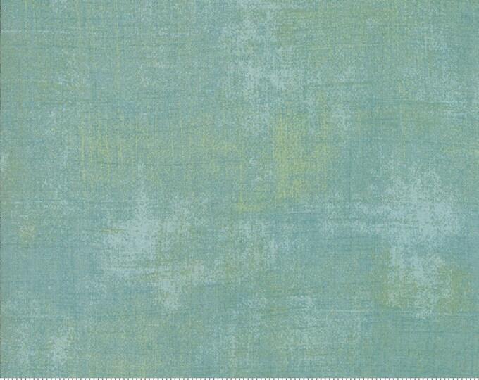 Moda Grunge Basics Nova New BLITHE Blue Teal Mottled Background Fabric 30150-503 BTY
