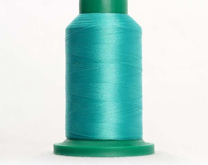 ISACORD Polyester Embroidery Thread Color 5115 Baccarat Green 1000m