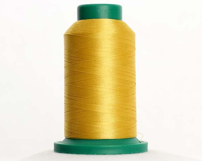 ISACORD Polyester Embroidery Thread Color 0622 Star Gold 1000m