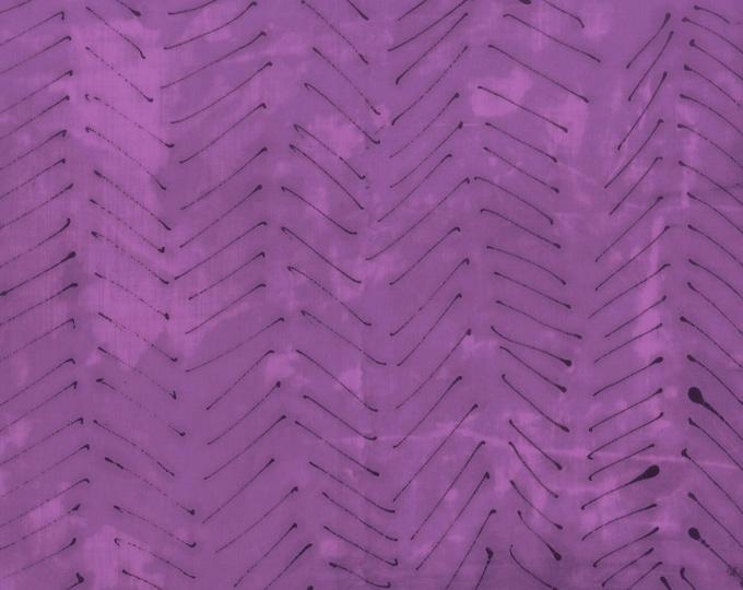 Windham Treasure Hunt by Marcia Derse Iris Arrow Purple Black 43189-15 Fabric BTHY