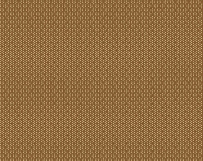 Henry Glass Fabric Buttermilk Blossom Tan BTY