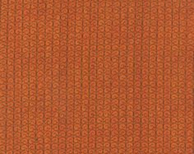 Moda Forest Fancy by Deb Strain Halloween Autumn Deep Orange with medi swirls  Cotton Fall  19716-11 BTY