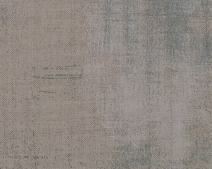 Moda Basic Grey Grunge GREY COUTURE Gray Charcoal Cotton 108 WIDE Fabric 3 yard cut 11108-163