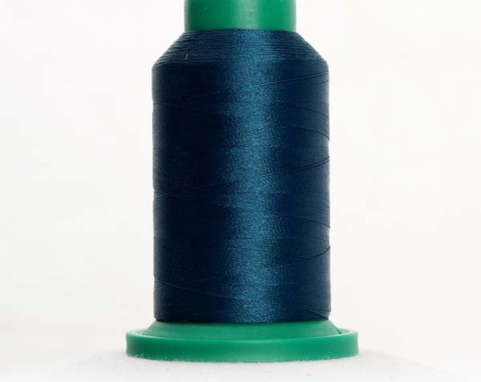 ISACORD Polyester Embroidery Thread Color 4515 Spruces 1000m