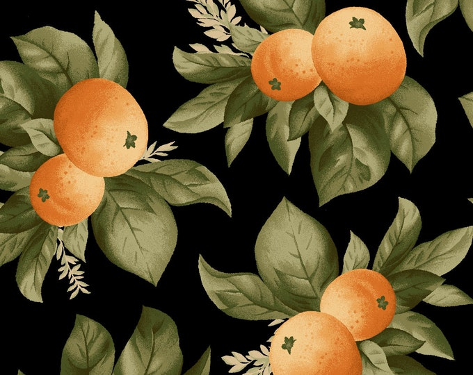 Maywood Fabric MAS9323-J A Fruit Life Citrus BTY
