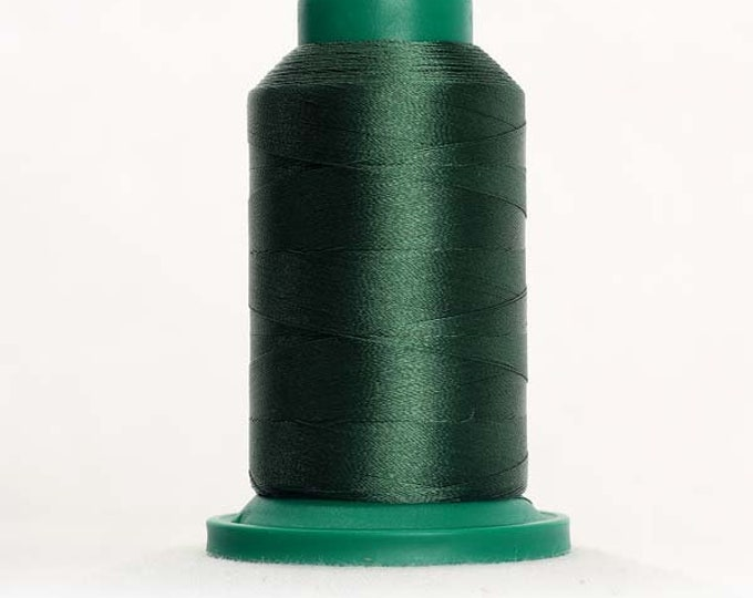 ISACORD Polyester Embroidery Thread Color 5643 Green Dust 1000m