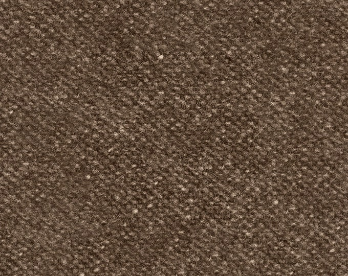 Maywood Woolies Brown Medium Nubby Tweed FLANNEL Fabric 18507-A BTHY