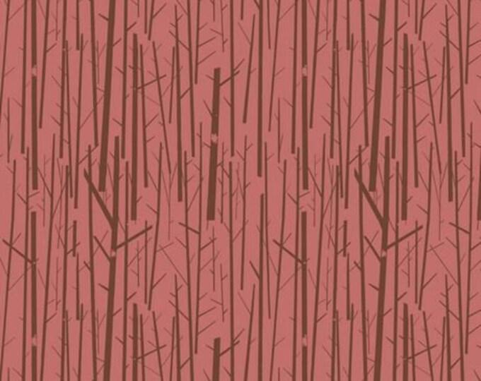 Birch fabrics BIFCH-50-Ros Western Birds CH 50 Rose Charley HarperBTY