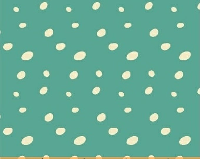 Windham Butterfly Dance Teal Mint Turquoise Spotty Dot Spot Fabric 50238-6 BTY