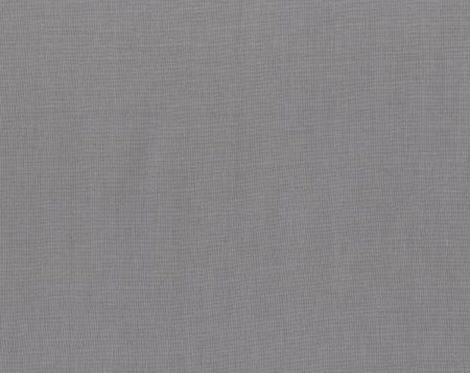 RJR 9617-125 Cotton Supreme Solids - Solid - Silver Fabric BTY