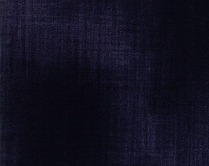 Moda Weather Permitting Janet Clare Tonal Navy indigo Blue Blender Woven Texture Fabric 1357-70 BTY