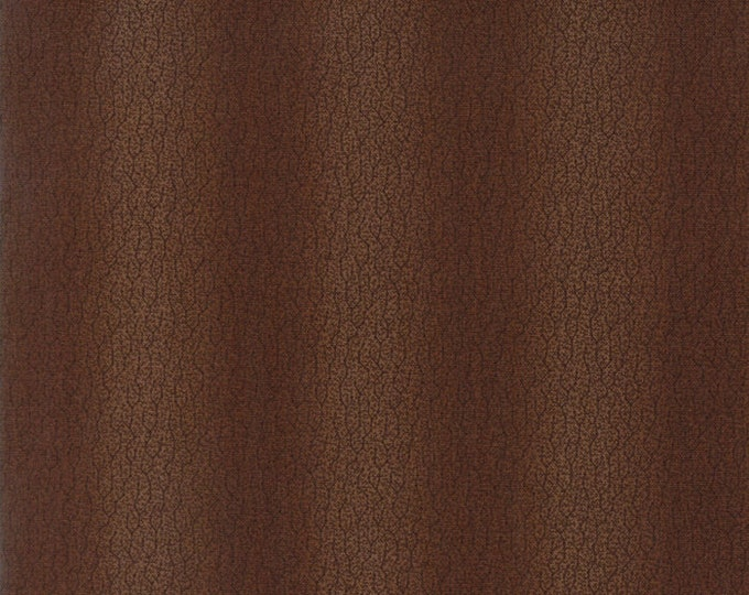 Moda Betsy Chutchian Hopes Journey Wagon Wheel Civil War Brown Leaves Fabric BTY 31534-19