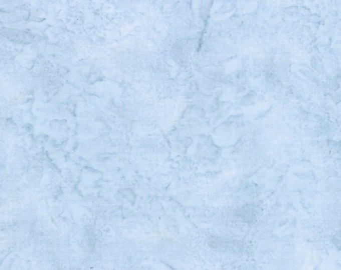 Hoffman 1895 Watercolors Solid Batik Fabric 1895-D7 Dusty Light Blue BTY