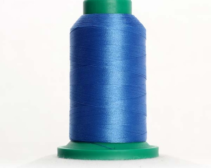 ISACORD Polyester Embroidery Thread Color 3722 Empire Blue 1000m