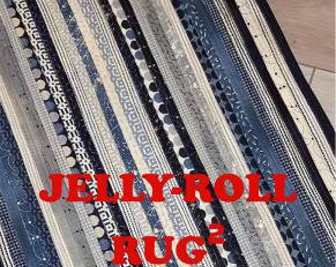 Jelly Roll Rug2 for RJ Designs by Roma Lambson RJD120