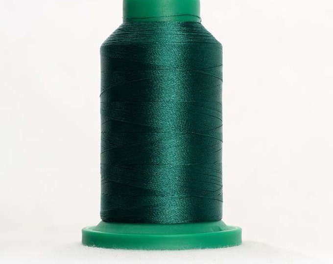 ISACORD Polyester Embroidery Thread Color 5324 1000m Green Forest