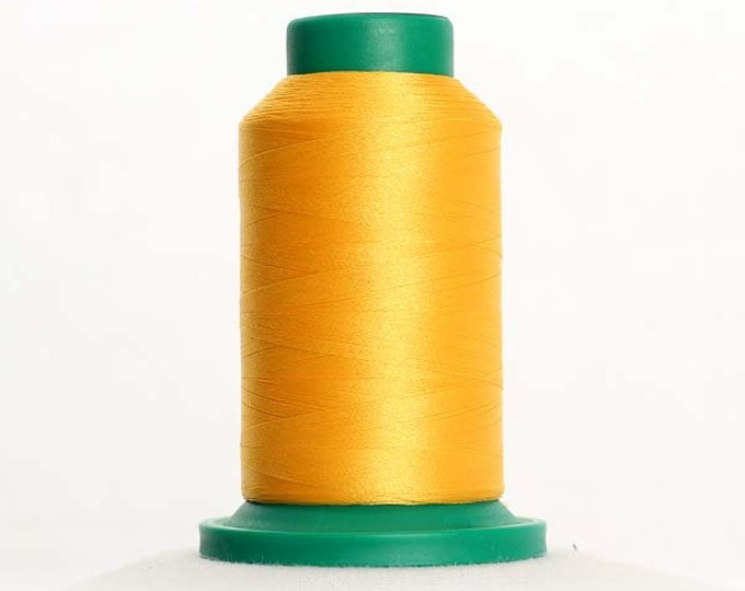 ISACORD Polyester Embroidery Thread Color 0703 Orange Peel 1000m