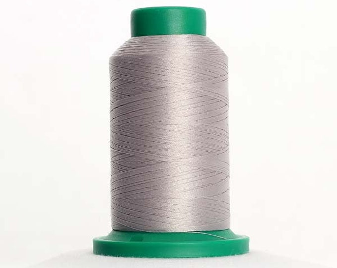 ISACORD Polyester Embroidery Thread Color 0150 Mystik Grey 1000m