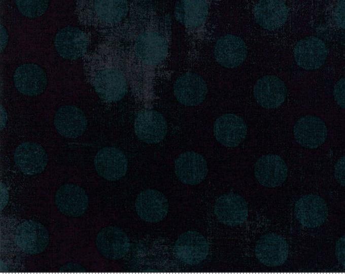Moda Basic BLACK DRESS Hits the Spot Polka Dot Grunge 30149-34 Fabric BTY 1 yd