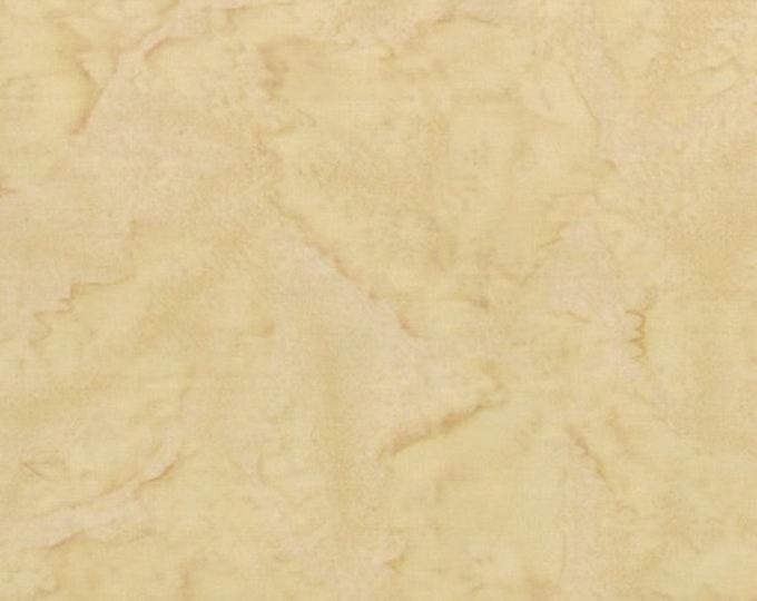 Hoffman 1895 Watercolors Solid Batik Fabric 1895-454 Dune Light Tan BTY