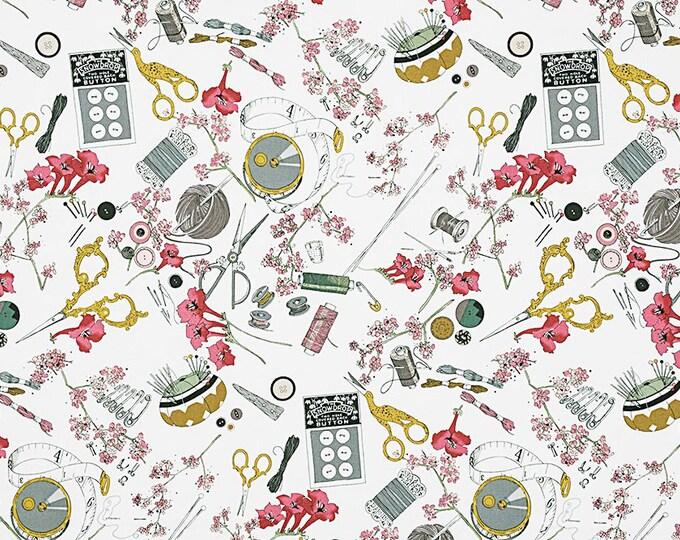 Alexander Henry The Ghastlies A Ghastlie Notion 8715-A Floral Fabric BTY