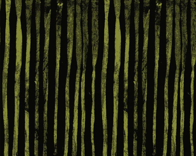 NEW Windham LINE by Marcia Derse Thicket Black Olive Green Fabric 50410-30 BTY