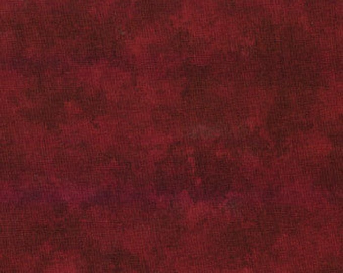 Moda Marble Marbles Brick RED Mottled Background Fabric 9881-13 BTY