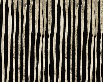 NEW Windham LINE by Marcia Derse Sumi Black White Beige Fabric 50410-1 BTY