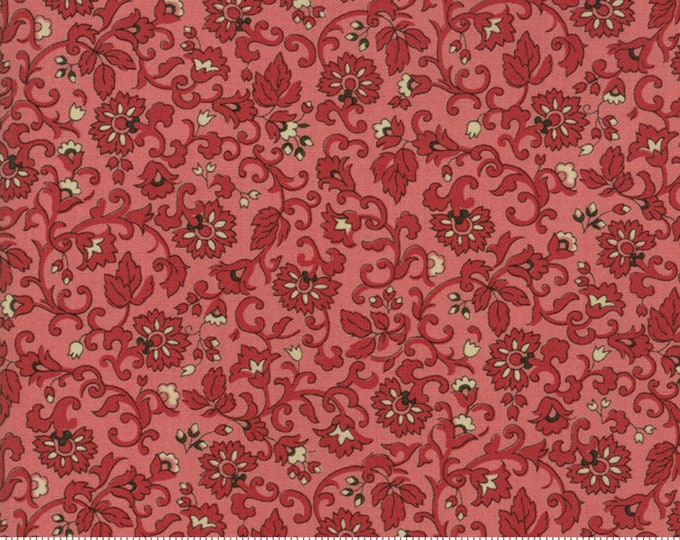 Moda Evelyn's Homestead Betsy Chutchian Primrose Pink Floral Reproduction Civil War Fabric BTY 31569-18