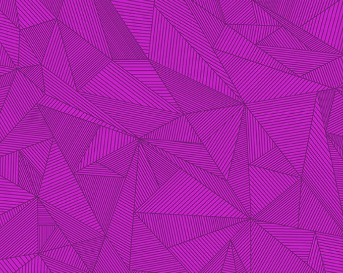 Andover Redux Giucy Giuce Terra Cosmos Magenta Pink Mauve Purple Geometric Line Fabric BTY 8962-P