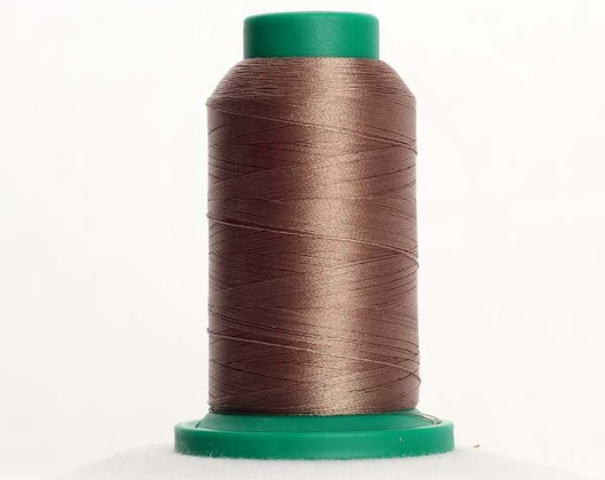 ISACORD Polyester Embroidery Thread Color 0722 Khaki 1000m