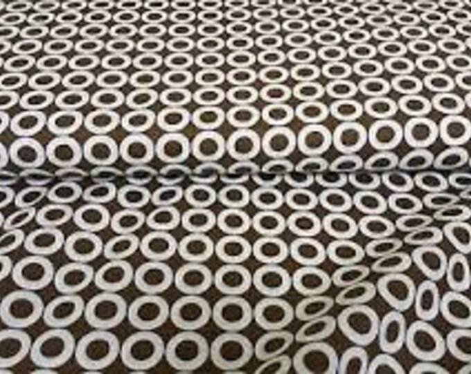 Robert Kaufman Brown 15866-16 Spot Dots cotton quilt fabric BTY