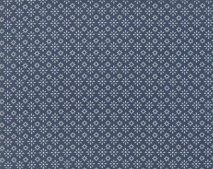 Moda Sweetwater FREEDOM Bue Bandana Star Fabric 5644-12 BTHY