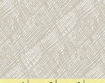 Windham Hatch Hatched Grey Gray Weave Criss Cross Blender Fabric 42689-2 BTY