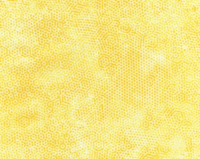 Andover Dimples Gail Kessler Basic Textured Blender Sunny Light Yellow 1867-Y3 BTY