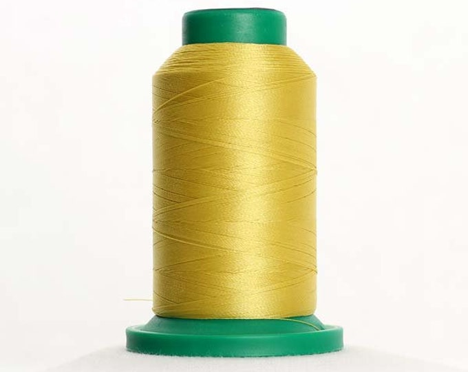 ISACORD Polyester Embroidery Thread Color 0221 Light Brass 1000m