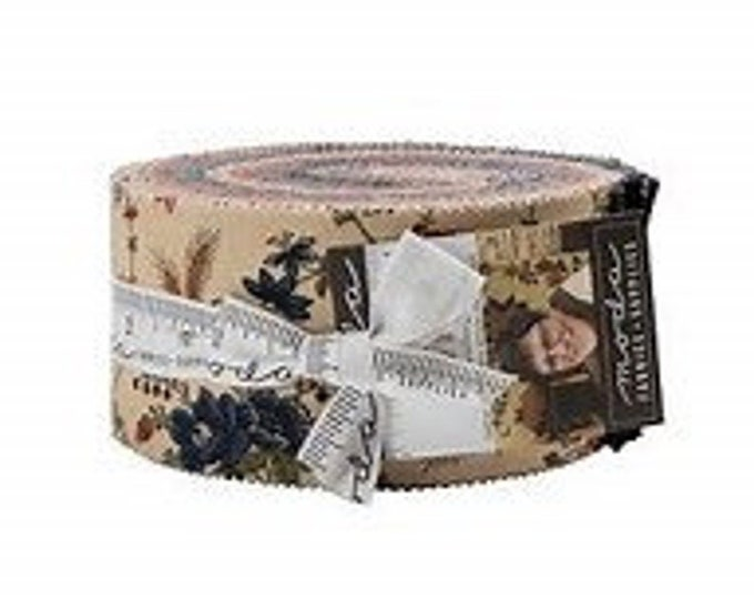 Moda Milestones Jelly Roll by Kansas Troubles Quilters for Moda Precuts Moda Fabrics  2.5 Fabric Strips