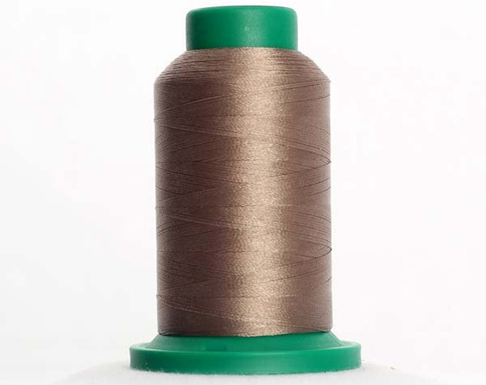 ISACORD Polyester Embroidery Thread Color 0862 Wild Rice 1000m