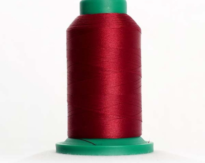 ISACORD Polyester Embroidery Thread Color 2123 Bordeaux 1000m
