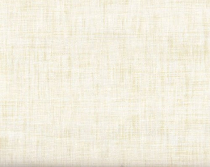 P&B Color Weave Medley CWEA 00200 Ecru Cream Natrual Off White Beige Fabric BTY